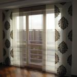 Японские шторы в интерьере – для ценителей эстетичного минимализма