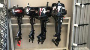Подвесные лодочные моторы: особенности их установки