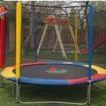 Надувные детские площадки и батуты