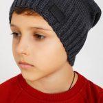Теплые головные уборы для мальчиков
