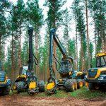 Системы интеллектуального управления лесных машин